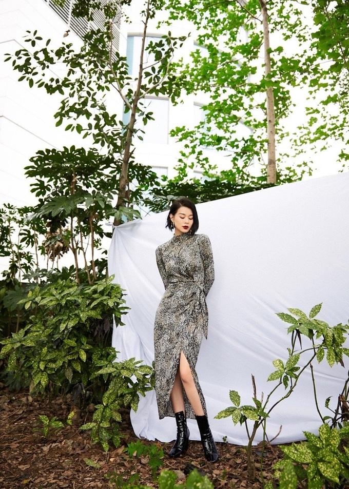 Váy áo giúp Hồ Hạnh Nhi ăn gian tuổi - 4