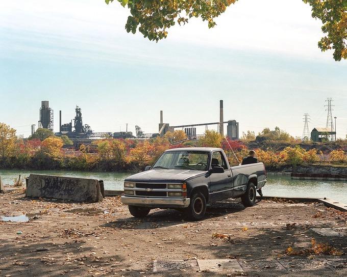 Toàn cảnh khu tổ hợp sản xuất thép Great Lakes Works. Ảnh: The New Yoker.
