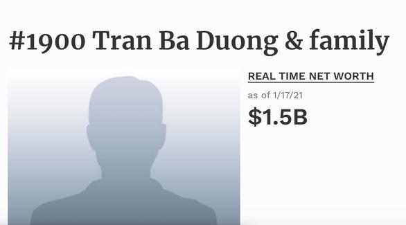 Chỉ hai tuần đầu năm, tài sản các tỉ phú đôla Việt Nam tăng vọt ra sao? - Ảnh 5.
