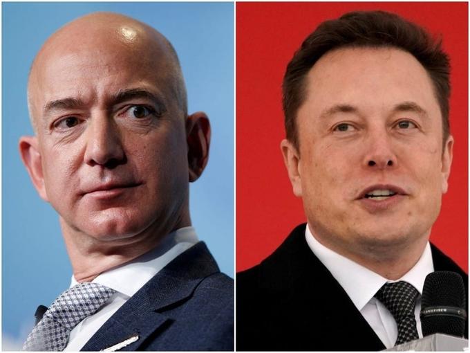 Elon Musk lại cà khịa Zeff Bezos
